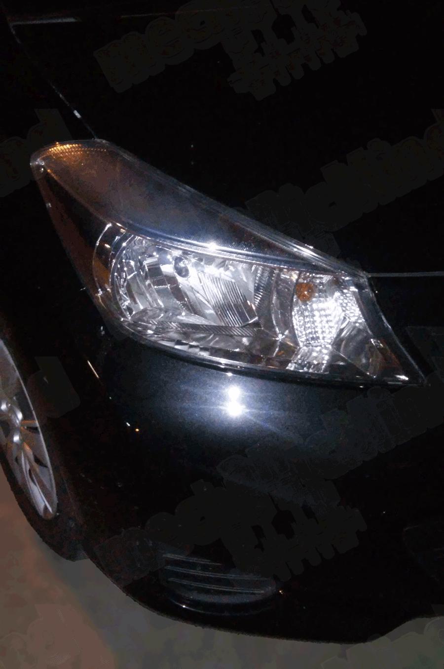 Toyota Yaris Serie 3 Sostituzione Lampadina Faro ...