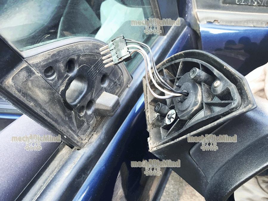 Mercedes classe a w168 sostituzione specchietto laterale - Specchio retrovisore laterale sinistro ...