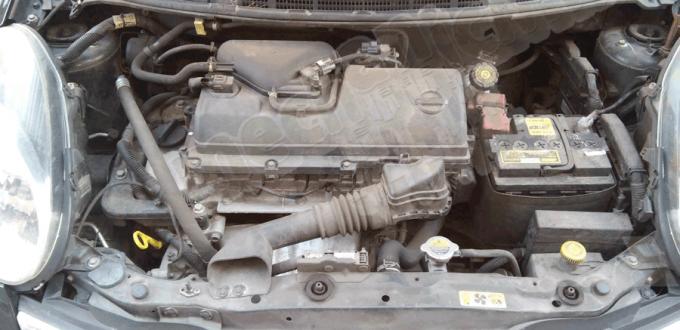 Figura 1: Vano Motore Nissan Micra K12