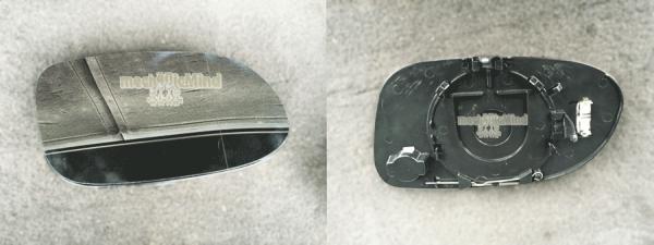 Figura 1: Vetro Specchietto lato passeggero di una Mercedes Classe A W168