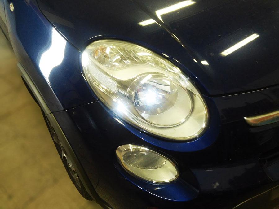 Lampadina Luci Diurne Fiat 500 : Fiat l sostituzione lampadina faro anabbagliante