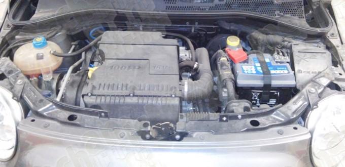 Figura 1: Vano Motore 500 sport 100 hp 16 valvole