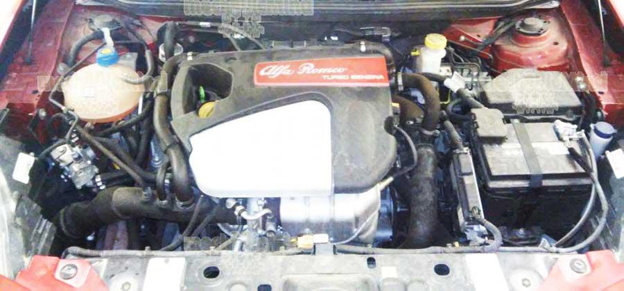 Figura 1: Vano motore Alfaromeo Giulietta Turbo