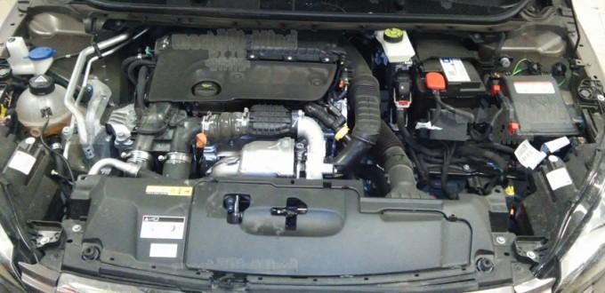 Figura 1: Vano motore Peugeot 308