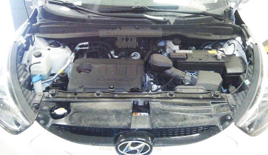 Figura 1 : Vano Motore Hyundai